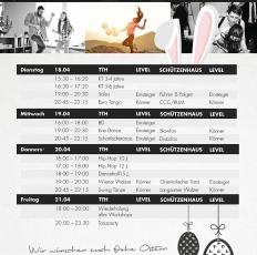 Ferienprogramm Ostern Tanzschule Lemgo